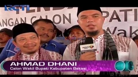 Ahmad Dhani Calonkan Wakil Bupati Bekasi