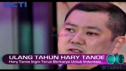 Ulang Tahun ke 51, Hary Tanoe Ingin Terus Berkarya untuk Indonesia