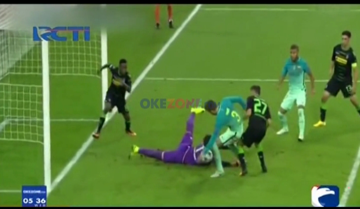 Hasil Manis Barcelona Kala Hadapi Borussia Monchengladbach
