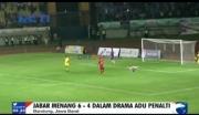 Jawa Barat Kantongi Emas pada Cabang Olahraga Sepakbola