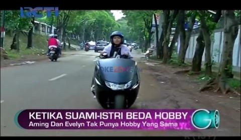 Aming Dukung Hobby Moge Istrinya