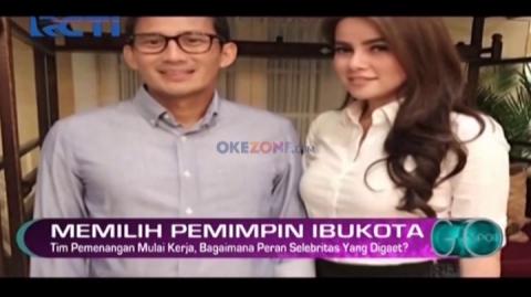Sejumlah Artis Menjadi Jubir Cagub dan Cawagub DKI Jakarta