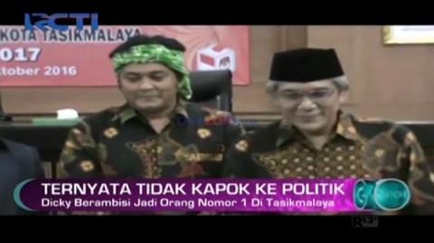 Dicky Chandra Tidak Kapok Terjun ke Dunia Politik