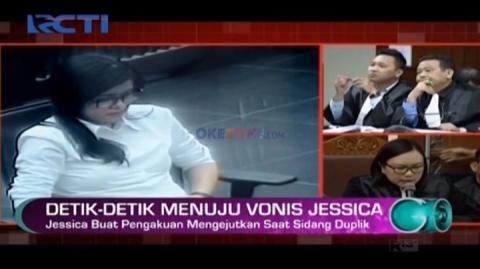 Detik-detik Menuju Vonis Jessica Kumala Wongso