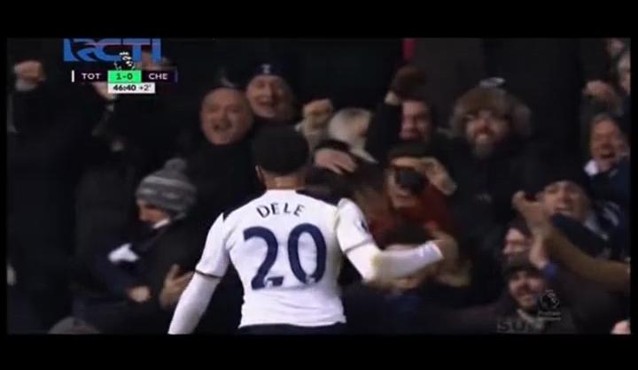 Best Moment: 2 Gol Dele Alli Patahkan Rekor The Blues