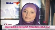 Suami Ditahan KPK, Inneke Koesherawati Sulit Ditemui