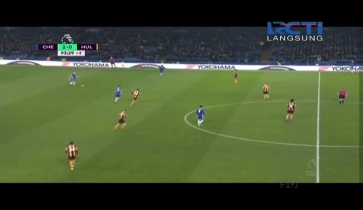 Full Recorded Premier League Chelsea vs Hull City