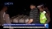 Polisi Sita Ribuan Liter Miras di Bali