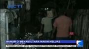 Banjir di Bekasi Utara Meluas ke Kecamatan Babelan