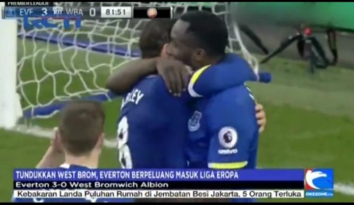 Tundukkan WBA 3-0, Everton Ancam MU dan Arsenal