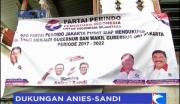 DPD Partai Perindo Dirikan Posko Pemenangan Anies-Sandi
