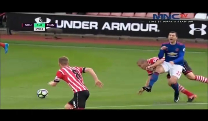 Full Recorded: Southampton Vs Manchester United
