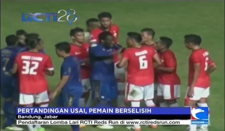 Pertandingan Persib Vs Persija Diwarnai Kericuhan