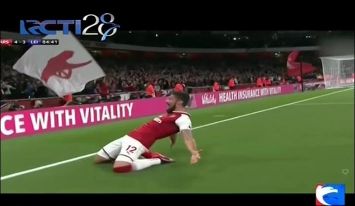 Hujan Gol di Laga Pembuka, Arsenal Menang Tipis 4-3 atas Leicester City
