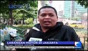 Tanggapan Warga Terkait Larangan Motor di Jakarta