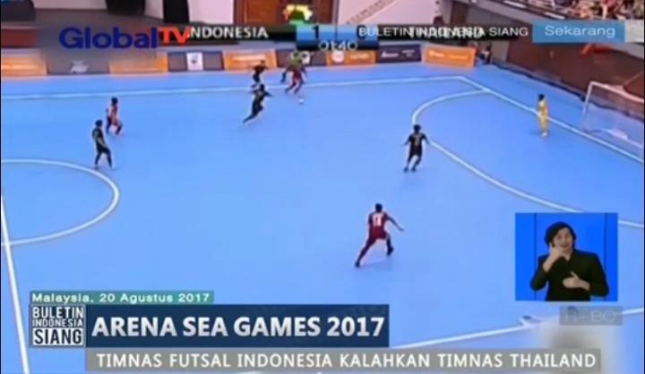 Timnas Futsal Indonesia Taklukan Timnas Thailand dengan Skor 4-2