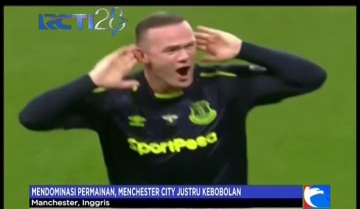 Manchester City Ditahan Imbang Everton di Etihad Stadium