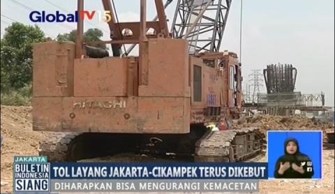 Tol Layang Jakarta-Cikampek Terus Dikebut