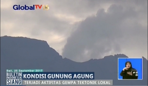 Video Meletusnya Gunung Agung Adalah Hoax