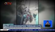 Aksi Kejahatan Terekam CCTV