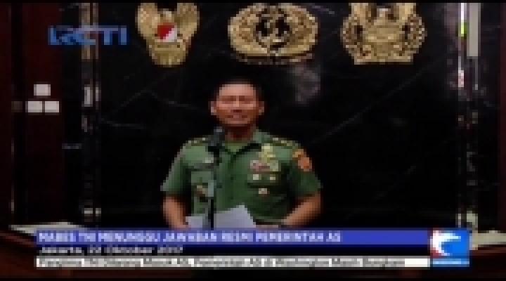 Panglima TNI Ditolak Masuk AS, Mabes TNI Minta Penjelasan Resmi