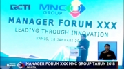 Manager Forum XXX MNC Group Tahun 2018