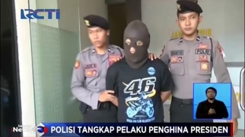 Polisi Tangkap Pelaku Penghina Presiden di Facebook