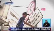 Polda Metro Jaya Akan Berlakukan Ganjil-Genap Bagi Sepeda Motor