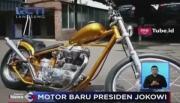 Presiden Jokowi Beli Motor Bergaya Chopper dengan Harga Rp140 Juta