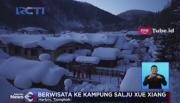 Menikmati Keindahan Kampung Salju di Tiongkok