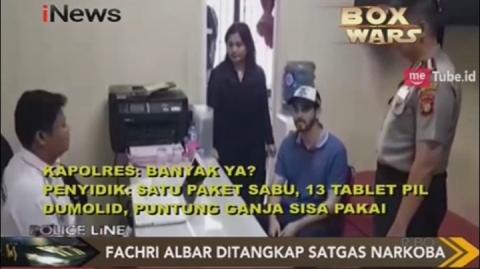 Video Pemeriksaan Fachri Albar oleh Penyidik Polres Jaksel