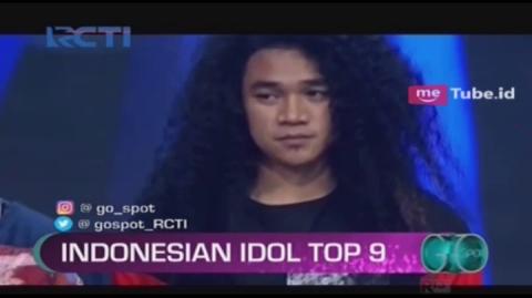 Tampil Menawan, Chandra Terhenti di Top 9 Indonesian Idol