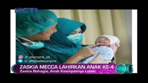 Zaskia Mecca Lahirkan Anak ke-4