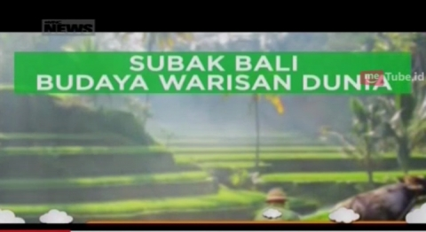 Melihat Subak Bali yang Menjadi Warisan Budaya Dunia