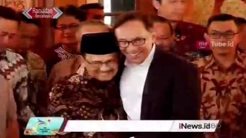 Reformasi Jadi Alasan BJ Habibie dan Anwar Ibrahim Berjumpa