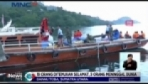Tim SAR Turunkan Alat Cangih Untuk Temukan Korban Tengelamnya Kapal Di Danau Toba