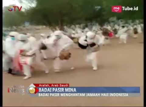Badai Pasir Melanda Arafah, Jamaah Haji Indonesia Panik